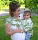 BlueBerriest Design Baby Sling